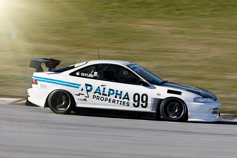 Honda Integra Race Car build